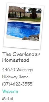 The Overlander Homestead